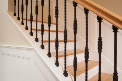 Entryway - Stairway Detail